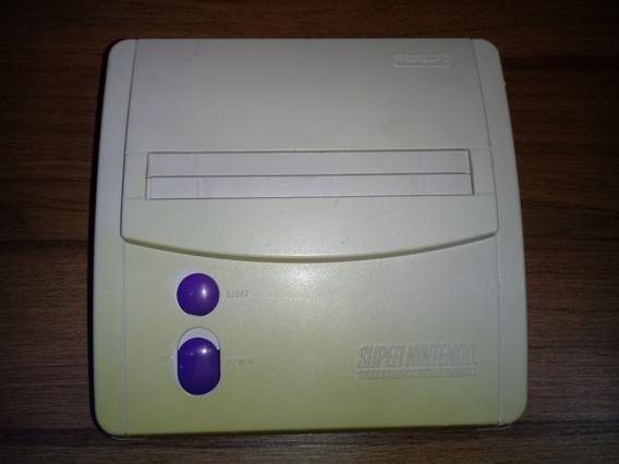 Snes Baby+ Av Mod (nintendo Original) Somente Console .
