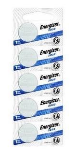 Pila Energizer 3v Lithio Cr2032 Blister X 5 Unidades