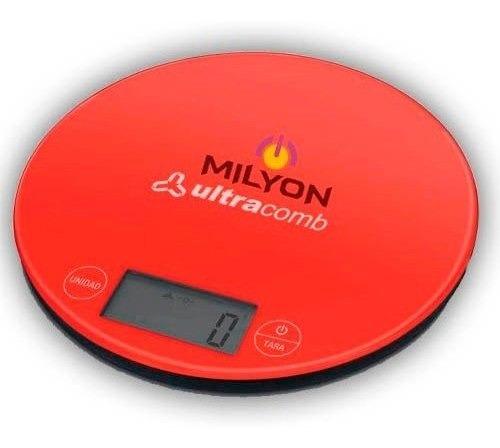 Balanza De Cocina Digital Ultracomb Graduacion 1gr Plana