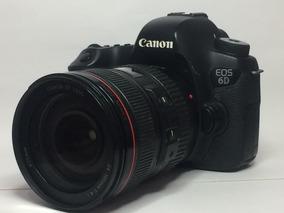 Canon 6d Com Lente Série L 24-105mm F/4.0