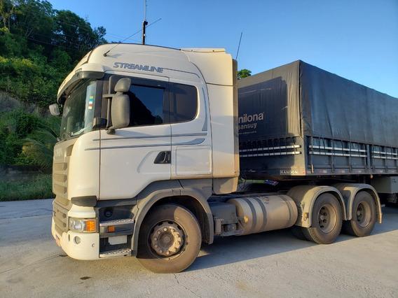 Scania R480 Highl. 6x4 2018/19 C/ 95 Mil Km Passo Finame