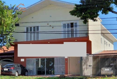 Casa Comercial Com Habite-se Para Alugar, 198 M² Por R$ 4.300/mês - Jardim Satélite - São José Dos Campos/sp - Ca1870