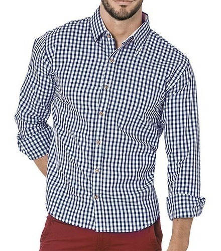Camisa Hombre Casual Pv19* 71221