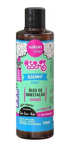 Óleo De Umectação Rícino Puro 100ml Salon Line