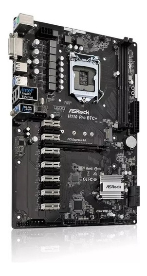 Placa-mãe Asrock Intel Lga 1151 H110