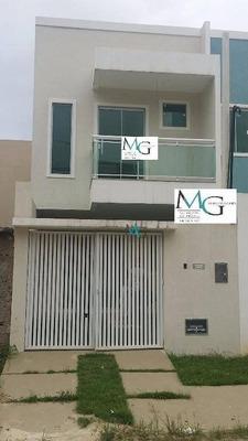 Casa 2 Quartos, 2 Suítes, No Bairro Manoela, Finíssimo Acabamento E Ótima Localização, Em Campo Grande, Rj - Codigo: Ca0052 - Ca0052