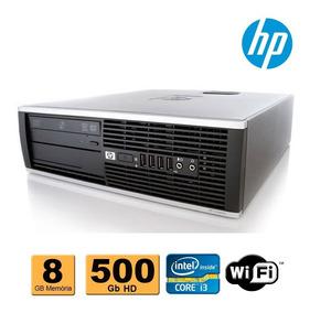 Cpu Hp Elite 8100 Intel Core I3 8gb Ram 500gb Dvd Wifi
