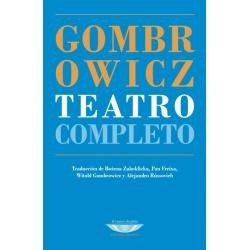 Teatro Completo Witold Gombrowicz (cu)