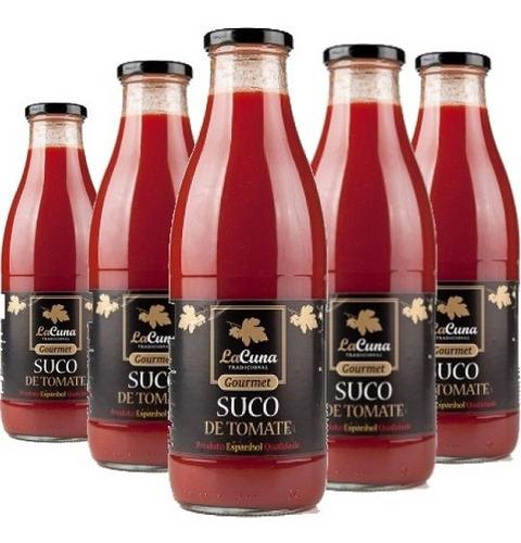 Imagem 1 de 3 de 6x Suco De Tomate Espanhol Lacuna 1 Litro