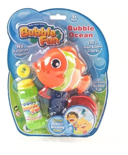 Burbujero A Friccion Power Tiburon  Bubble Fun Burbujas Edu