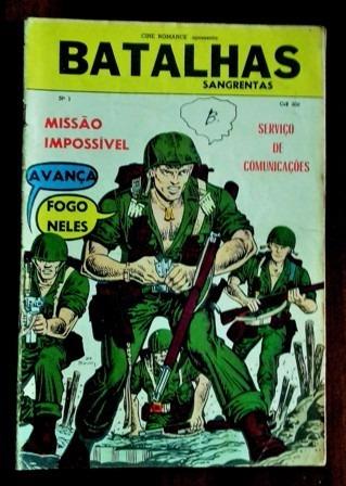 Batalhas Sangrentas Nº 1 (edit. Dado-1969/70)