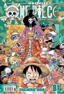 One Piece 81! Mangá Panini! Novo E Lacrado!