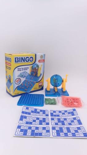 Bingo Juego De Mesa Loto 90 Números Súper Divertido