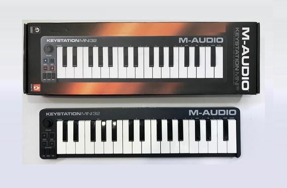 Controlador Midi Key Station Mini 32 M-audio