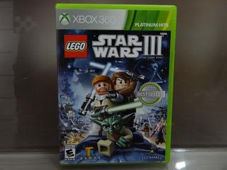 Lego Star Wars Iii 3 The Clone Wars Xbox 360
