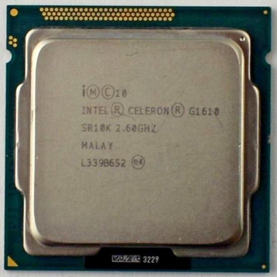 Processador Intel Celeron G1610 Lixo Ruim Sucata