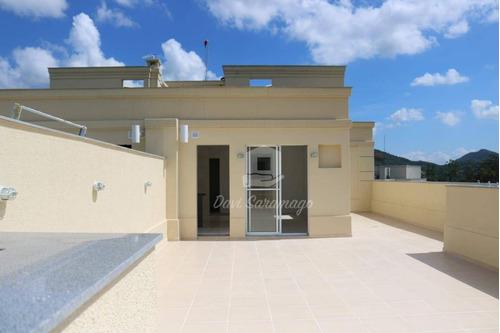 Cobertura Com 2 Dormitórios À Venda, 141 M² Por R$ 490.000,00 - Maria Paula - São Gonçalo/rj - Co0044