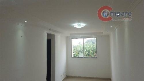 Apartamento À Venda, 47 M² Por R$ 165.000,00 - Bonsucesso - Guarulhos/sp - Ap3743