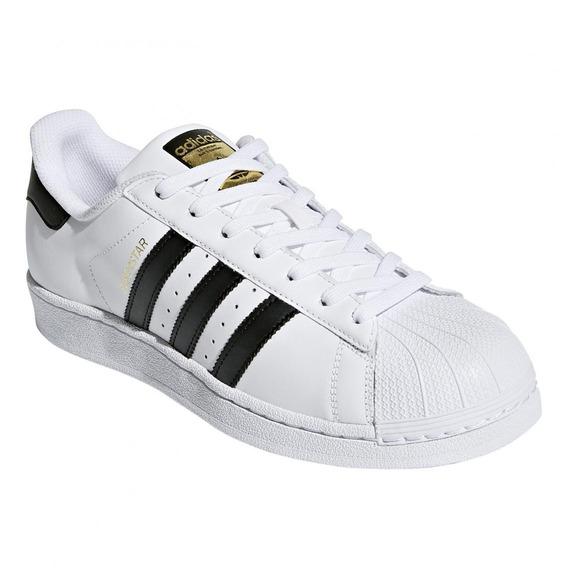 Zapatilla adidas Superstar Foundation C77124 Blanco Y Negro