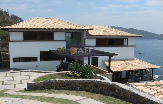 Mansão Residencial À Venda, Bairro Pontal Do Atalaia, Arraial Do Cabo-rj. - Ca0474