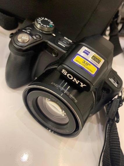 Câmera Sony Dsc-h50 Completa Muito Nova!