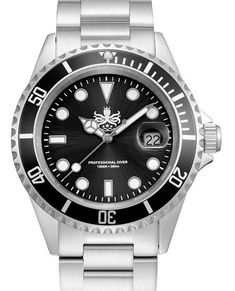 Phoibos Px002c Diver Mergulho Profissional 300m Maq. Suíço