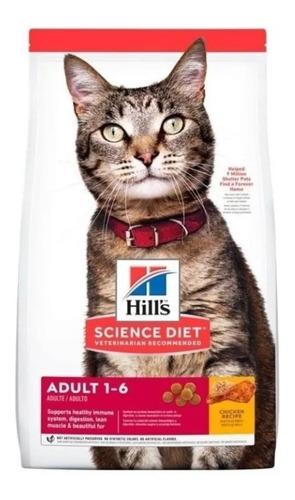 Imagen 1 de 1 de Hills Gato Adulto Optimal Care 16lb E - kg a $33571