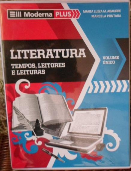 Box Moderna Plus Literatura Tempos, Leitores E Leituras