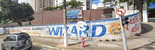 Terreno Para Alugar, 600 M² Por R$ 4.000,00/mês - Bangu - Santo André/sp - Te1118