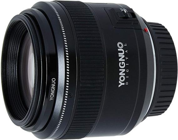 Lente Yongnuo 85mm 1.8 Para Canon