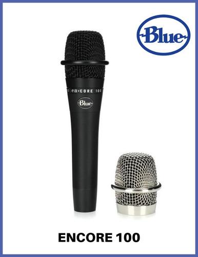 Micrófono Dinámico Vocal Blue Encore 100