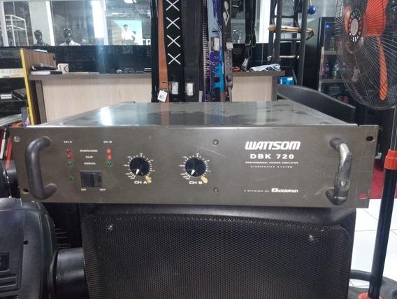 Amplificador Wattsom Dbk720 - Usado