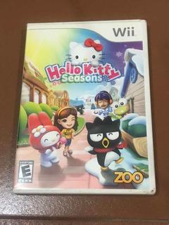 Hello Kitty Seasons Wii