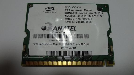 Placa Wireless Do Notebook Lenovo 3000 C100
