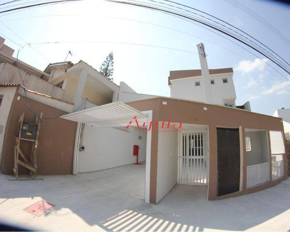 Sobrado Residencial À Venda, Vila Curuçá, Santo André. - So0844