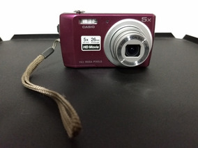 Camera Digital Casio 14.1 Megapixels Filma Em Hd 5x Opt Zoom