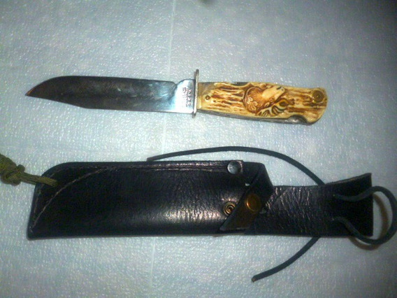 Cuchillo Alemán Original, Decora Solingen Dbgm Decada 50