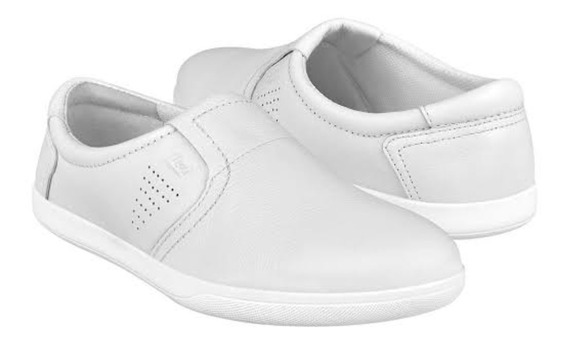 Tenis Zapato Flexi Blanco Clínico Doctora Remate Piel