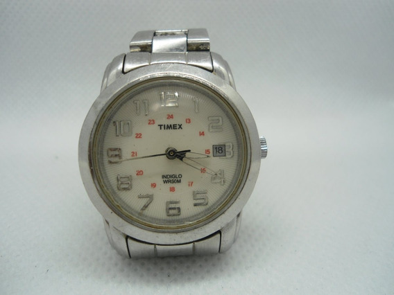 Relógio Timex Feminino Com Luz Noturna -usado Bem Conservado