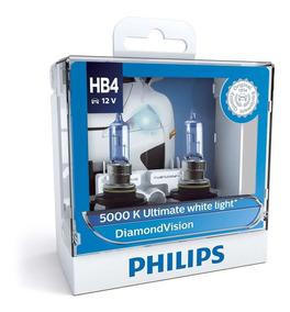 ( Veja Original ) Philips Diamond Vision 5000k Hb4 Garantia