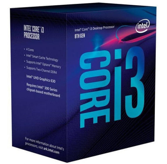 Intel Core I3-8100 3.6ghz 6mb Lga 1151 Novo Lacrado