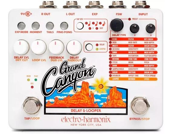 Pedal Electro Harmonix Grand Canyon Delay E Looper Original