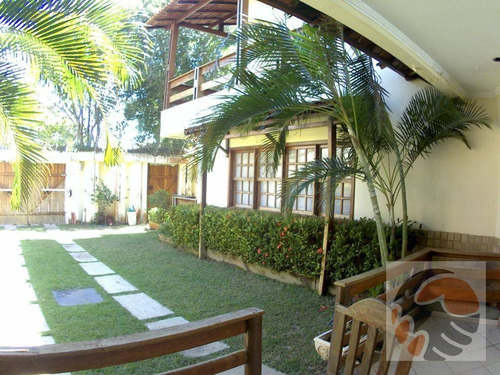 Casa Com 5 Quartos À Venda, 346 M² Por R$ 1.200.000 - Enseada Azul - Guarapari/es - Ca0004
