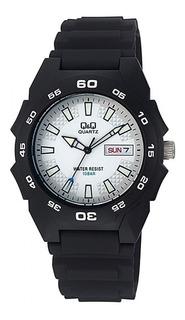 Reloj Hombre Q&q A170 Análogo Malla Sumergible By Citizen