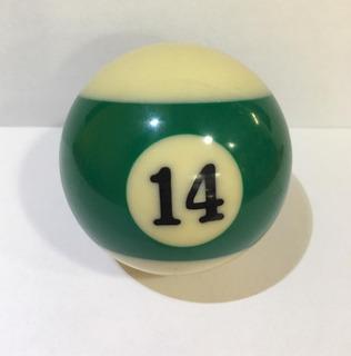 Bola #14 Rayada Billar ¡envio Gratis!