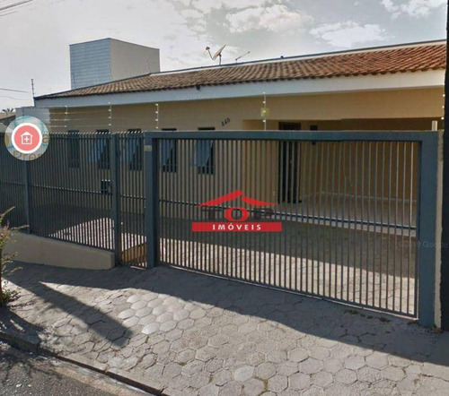 Imagem 1 de 1 de Casa Com 4 Dormitórios Para Alugar, 200 M² Por R$ 3.800/mês - Vila Mariana - Bauru/sp - Ca1093