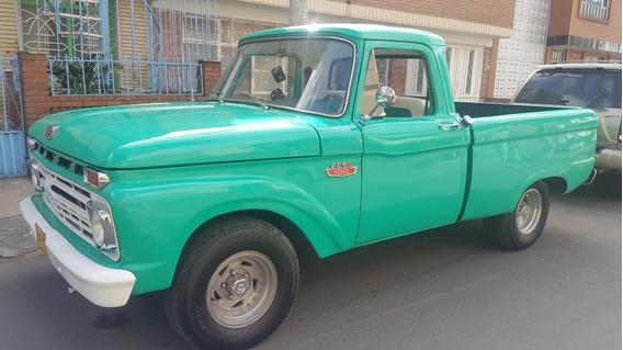 F100 1966 Automatica, Restaurada