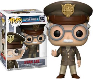 Funko Pop Captain America Stan Lee #282