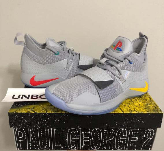 Tenis Nike X Playstation Paul George 2.5 Wolf Grey