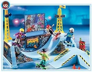 Playmobil Skate Park Con Half Pipe